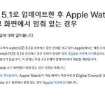 애플워치신제품먹통현상…애플SW업데이트할것
