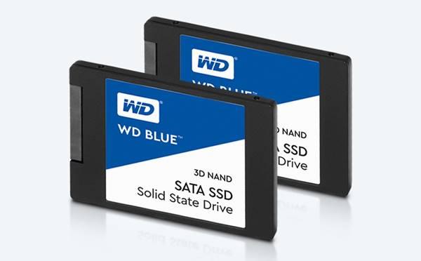 ▲ S-ATA3 방식의 WD BLUE SSD