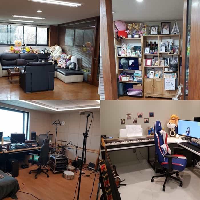 © 갓잇코리아 아이유가 소유한 경기 과천시 건물 내 아이유 음악 작업실/카카오M 제공
