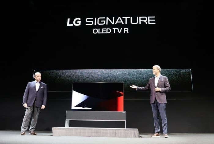 LG전자, 'CES 2019' 앞두고 세계 첫 롤러블 OLED TV 공개(LG전자 제공) ⓒ 갓잇코리아